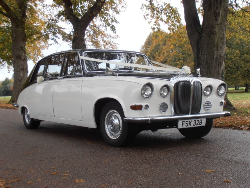 Classic Wedding Cars Daimler Wedding Cars In Portsmouth